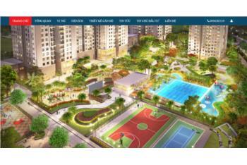 Giới thiệu website bất động sản theo dự án Phú Mỹ Hưng Saigon South Residences