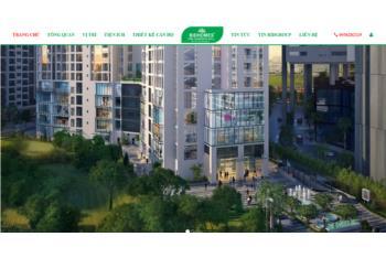 Giới thiệu website bất động sản theo dự án Bidhomes The Garden Hill